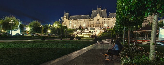 Romantic walk around Iasi image