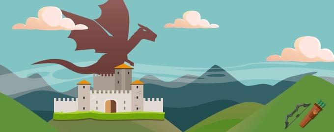 Nimicește dragonul și salvează Cisnădioara image